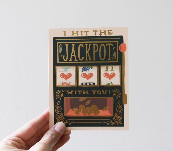 Carte - Jackpot Rifle paper co - maison mathuvu