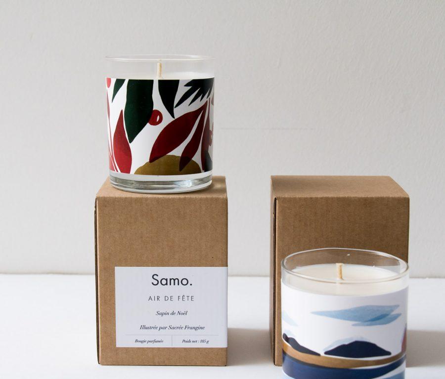 Bougie - Noël Samo - maison mathuvu