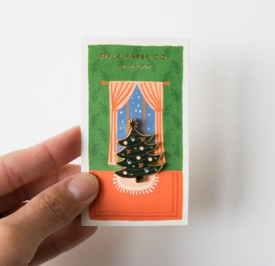 Pin's - Sapin Rifle paper co - maison mathuvu