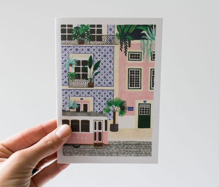 Carte - Lisboa All the ways to say - maison mathuvu
