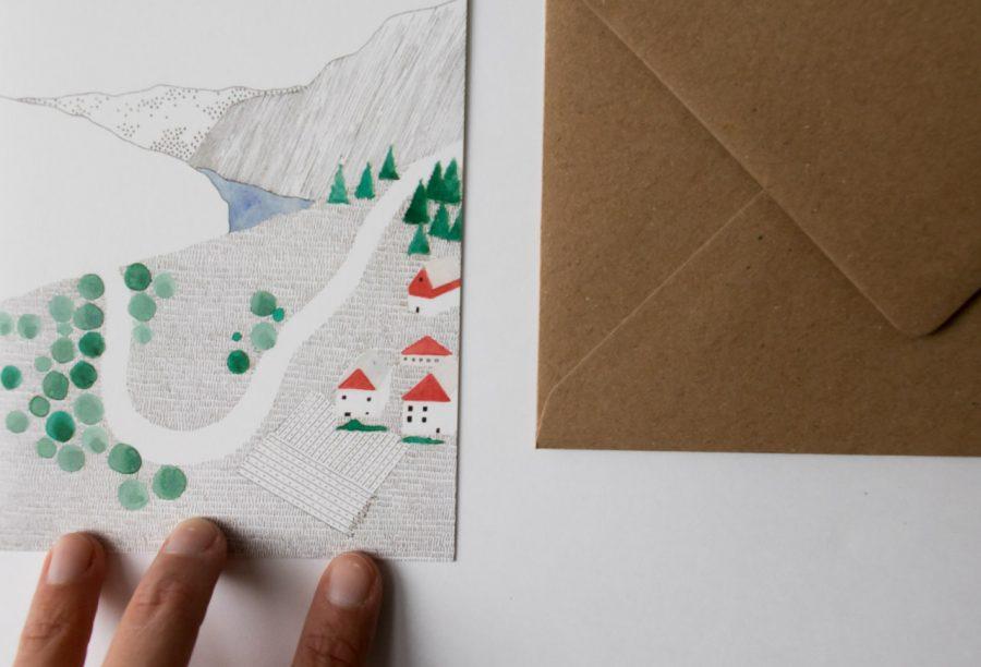 Carte - Geiranger Petit gramme - maison mathuvu