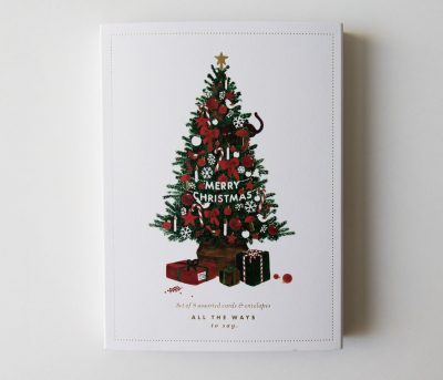 Coffret - 8 cartes Noël All the ways to say - maison mathuvu