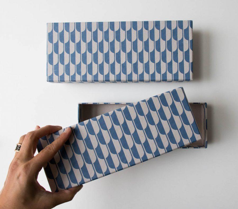 Boîte à crayons - Art Déco Bungalow - maison mathuvu