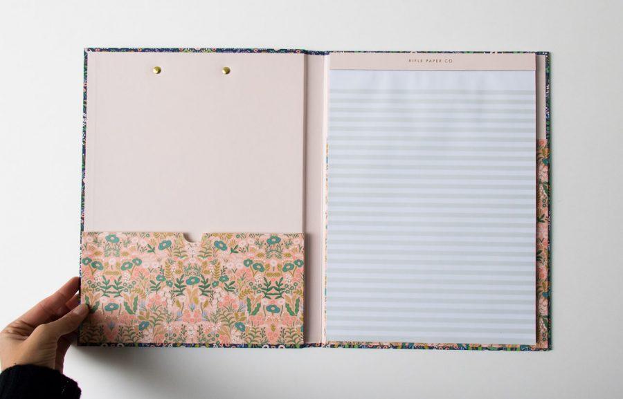 Clipfolio - Tapestry Rifle paper co - maison mathuvu