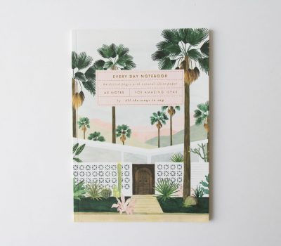 Carnet A5 - Palm spring All the ways to say - maison mathuvu