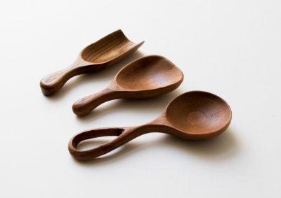 Set de 3 cuillères en bois - Court Bungalow - Maison mathuvu