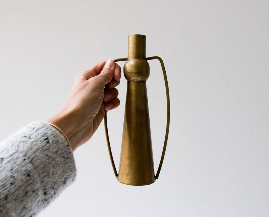 Vase en laiton Bloomingville - maison mathuvu