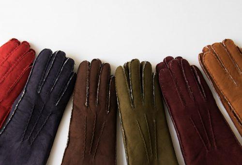 Gants en cuir - Curly Glove story - maison mathuvu