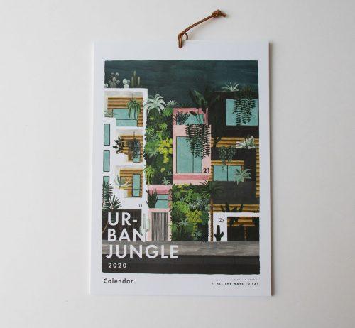 Calendrier 2020 - Urban Jungle All the ways to say - maison mathuvu