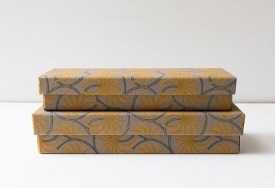Boîte à crayons - Palmier jaune Bungalow - maison mathuvu
