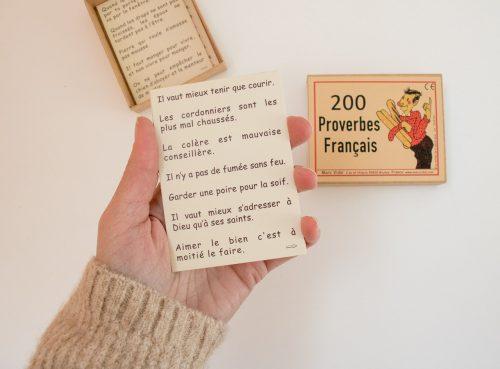 200 Proverbes Français Marc Vidal - maison mathuvu