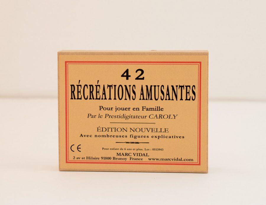 42 Récréations amusantes Marc Vidal - maison mathuvu