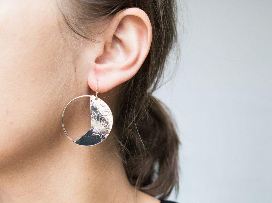 Boucles d'oreilles - Reina Exquises indécises - maison mathuvu