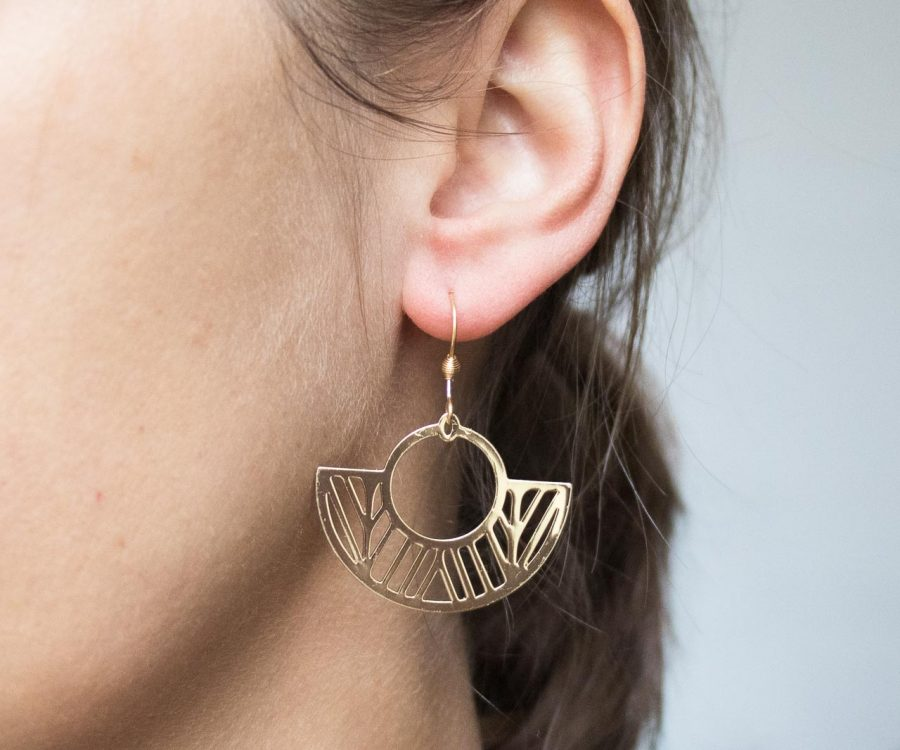 Boucles d'oreilles - Chaïma Maison mathuvu