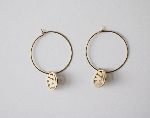 Boucles d'oreilles - Marguerite Maison mathuvu