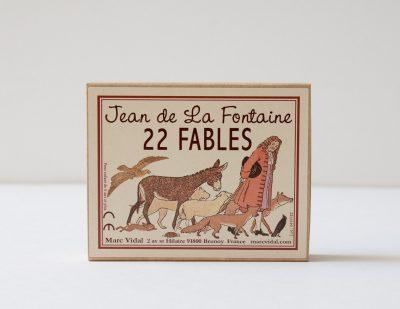 22 Fables de La Fontaine Marc Vidal - maison mathuvu