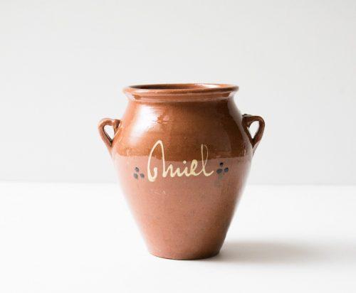 Vase - Miel chiné - maison mathuvu