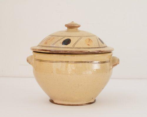 Soupière en céramique vintage chinée par Maison Mathûvû