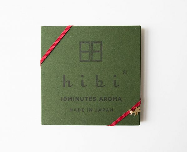 Coffret d'encens - Vert Hibi - maison mathuvu