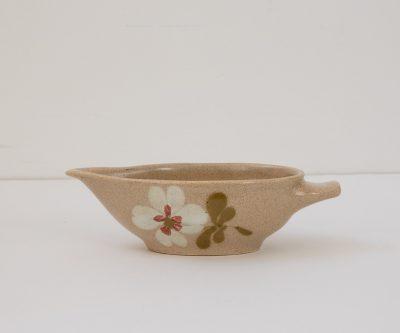 Saucière - Fleur chinée - maison mathuvu