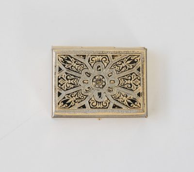 Mini boîte gravée chinée - maison mathuvu