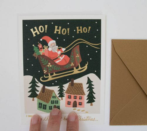 Carte - Ho Ho Ho! Rifle paper co - maison mathuvu