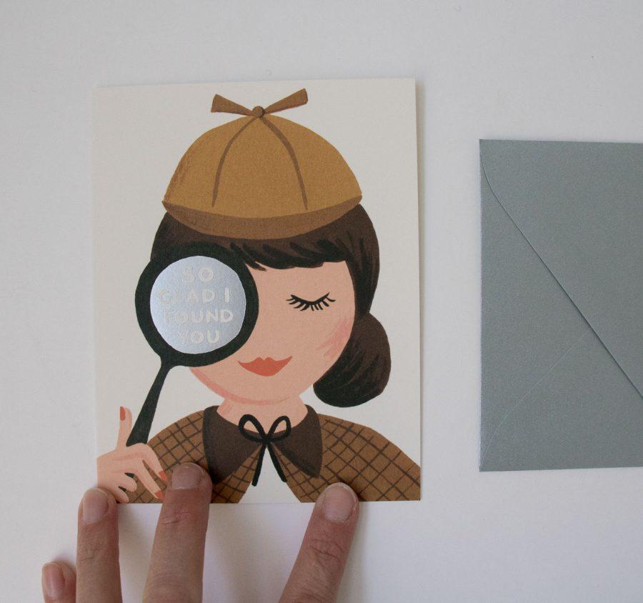 Carte - Sherlock Holmes Rifle paper co - maison mathuvu