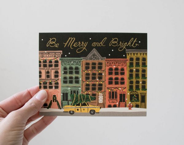 Carte - Façades Rifle paper co - maison mathuvu