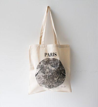 Tote bag - Paris Emilie Ettori - maison mathuvu