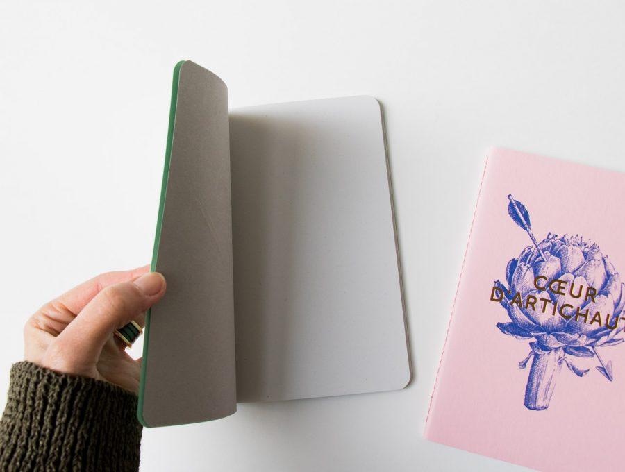 Carnet - Vert ou Rose Les éditions du paon - maison mathuvu