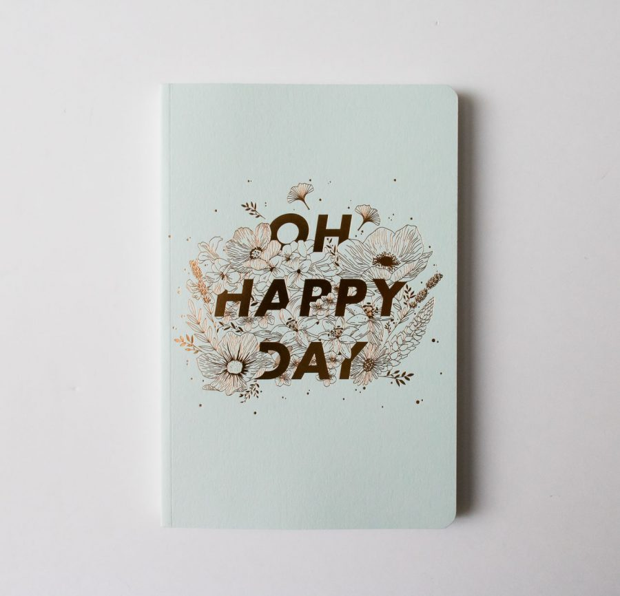 Carnet épais - Oh happy day Les éditions du paon - maison mathuvu
