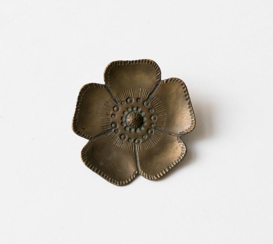 Broche - Fleur chinée par Maison Mathuvu