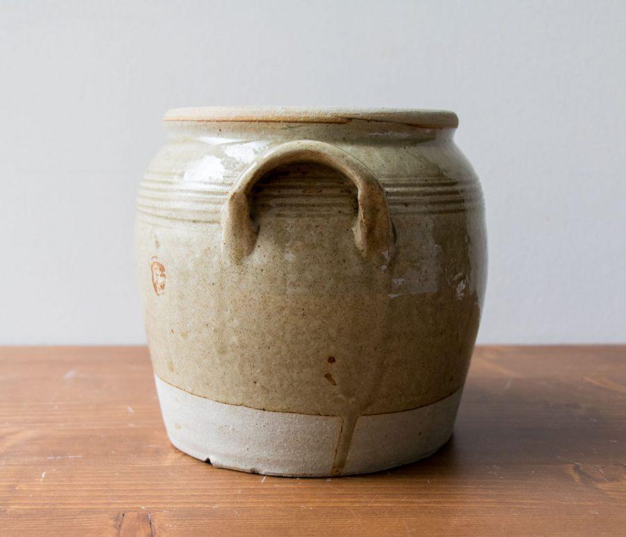 Cache-pot - Vert de gris Chiné - maison mathuvu