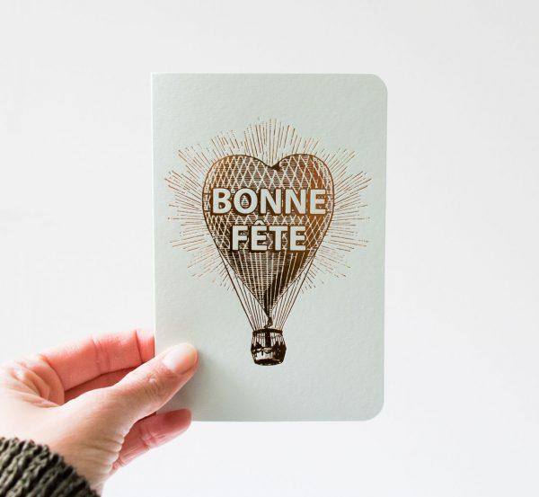 Carte - Bonne fête Les éditions du paon - maison mathuvu