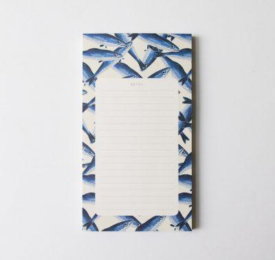 Bloc-notes - Sardines Season paper -maison mathuvu