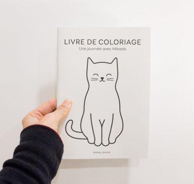 Livre de coloriage - Mikado Audrey Jeanne - maison mathuvu