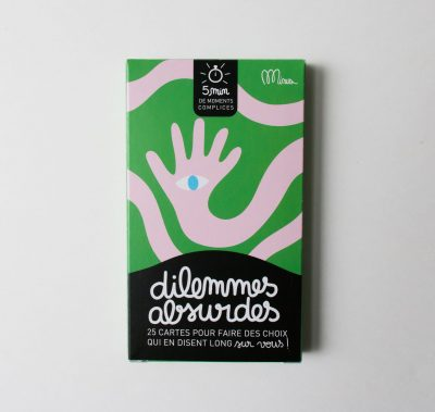 Jeu - Dilemmes absurdes Minus éditions - maison mathuvu