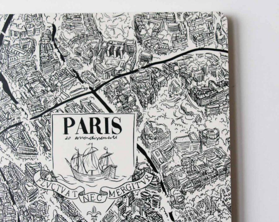 Carnet - Paris Emilie Ettori - maison mathuvu