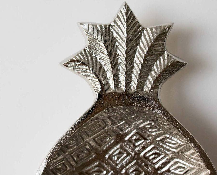 Coupelle ananas argenté chehoma - maison mathuvu