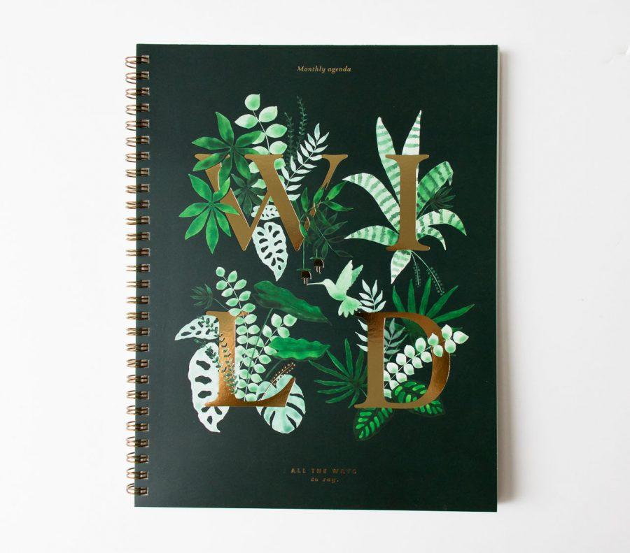 Agenda mensuel - Wild all the ways to say - maison mathuvu