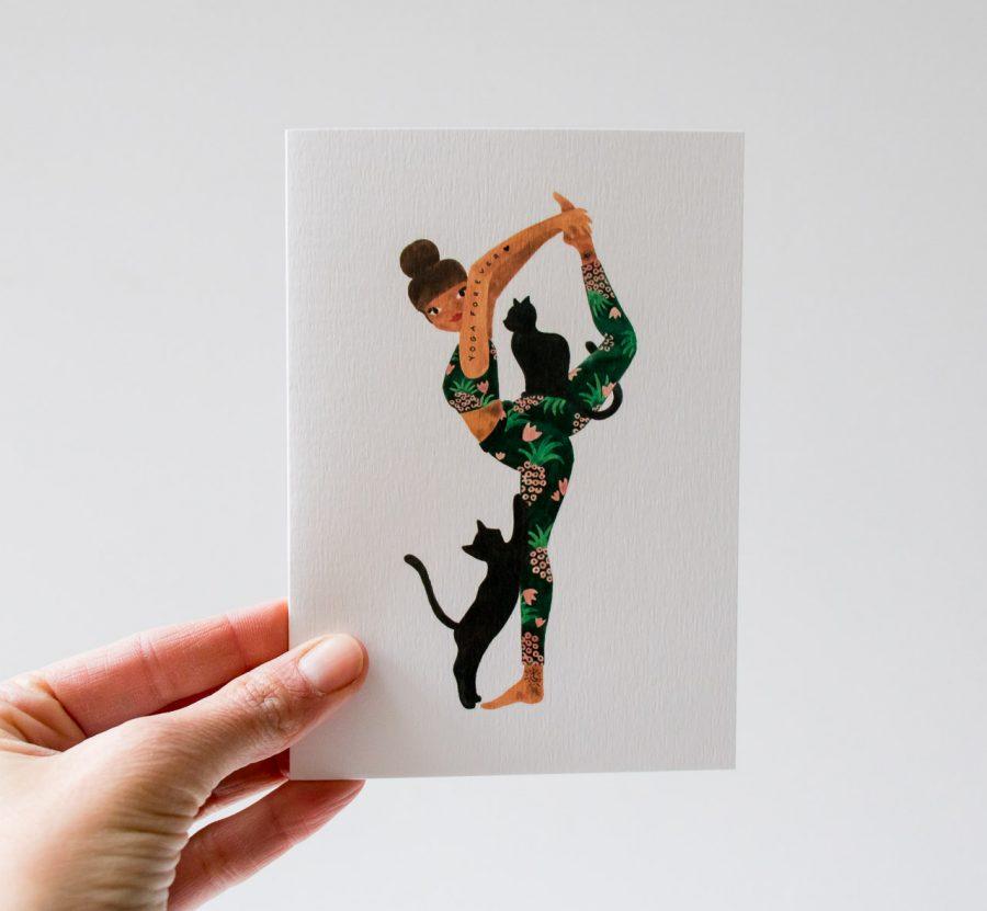 Carte - Yoga forever de All the ways to say chez Maison Mathûvû