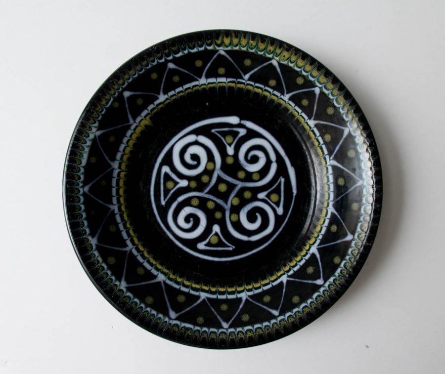 Assiette creuse - Ty.Breiz chinée - maison mathuvu