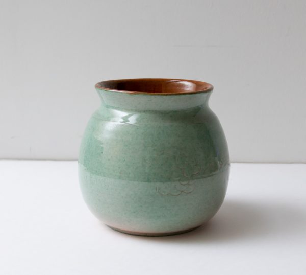 Vase - Émeraude chiné - maison mathuvu