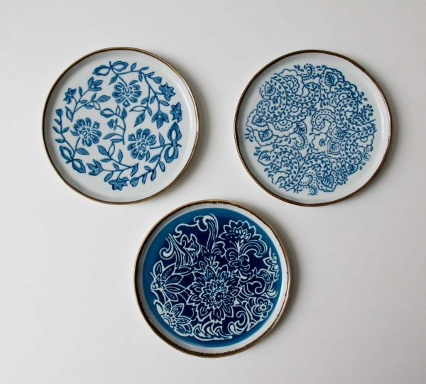 Set de 3 assiettes - Molly Bloomingville - maison mathuvu
