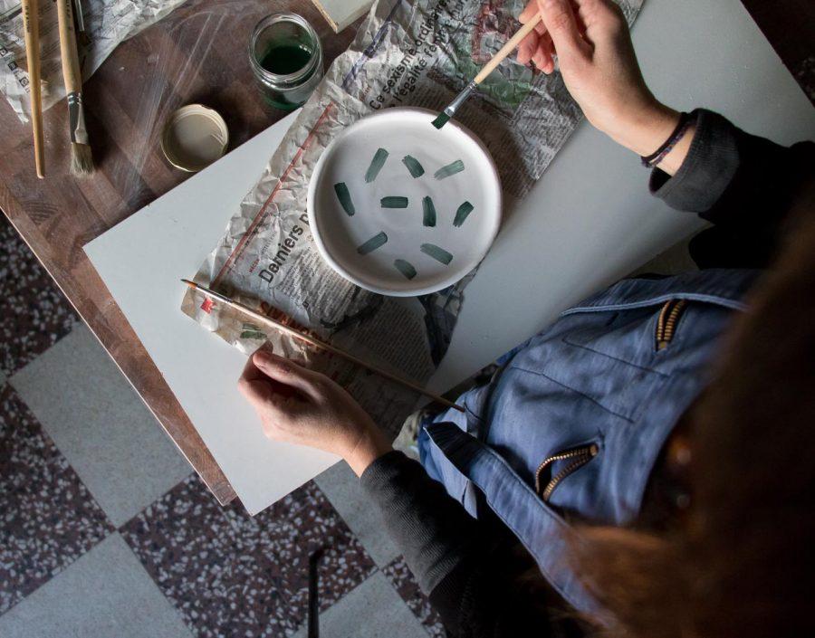 Nos premiers pas dans notre studio de création - céramique - Maison Mathûvû