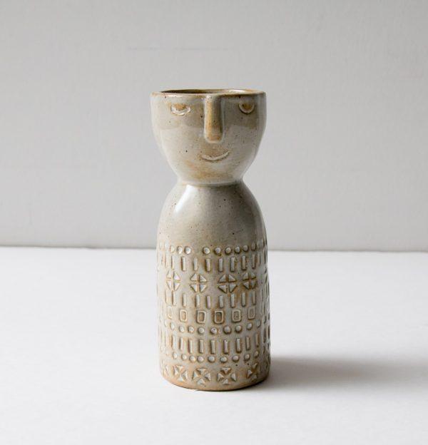 Vase - Visage bloomingville - maison mathuvu