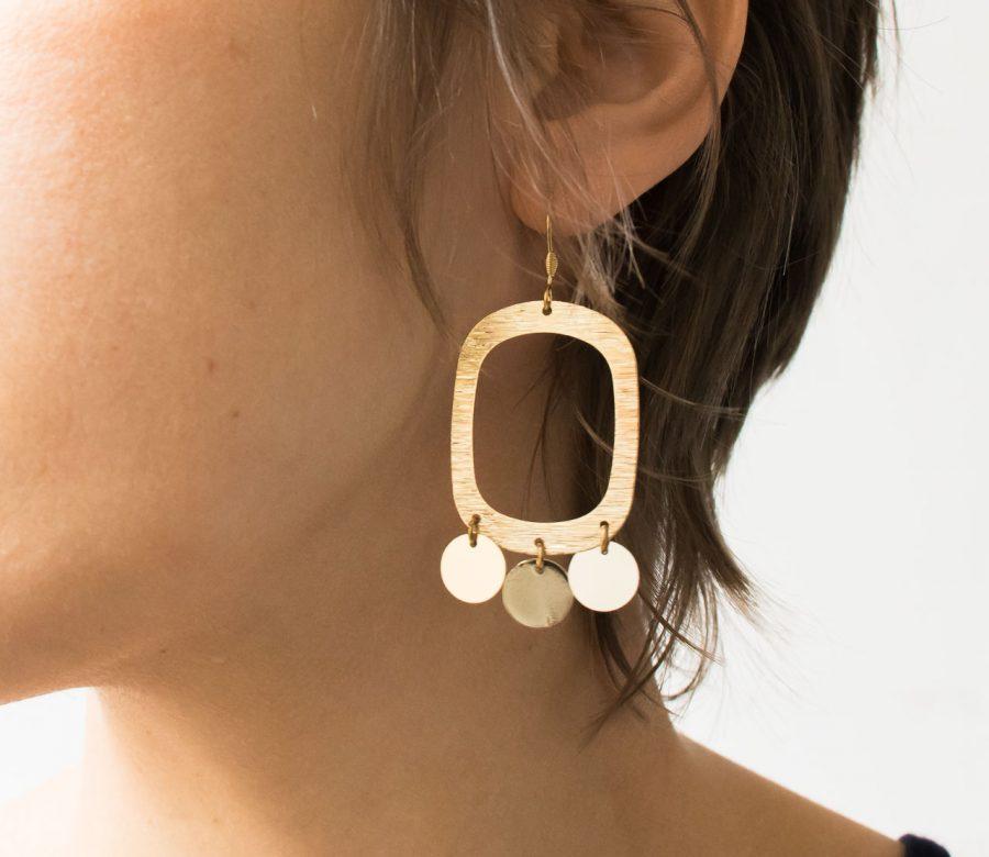 Boucles d'oreilles - Josi maison mathuvu
