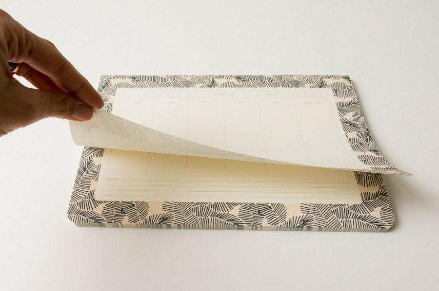 Semainier - Froufrou season paper - maison mathuvu