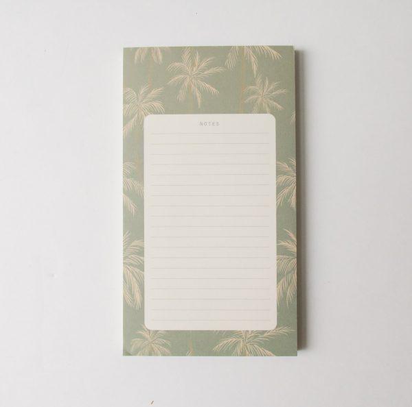 Bloc-notes - Palmeraie season paper - maison mathuvu
