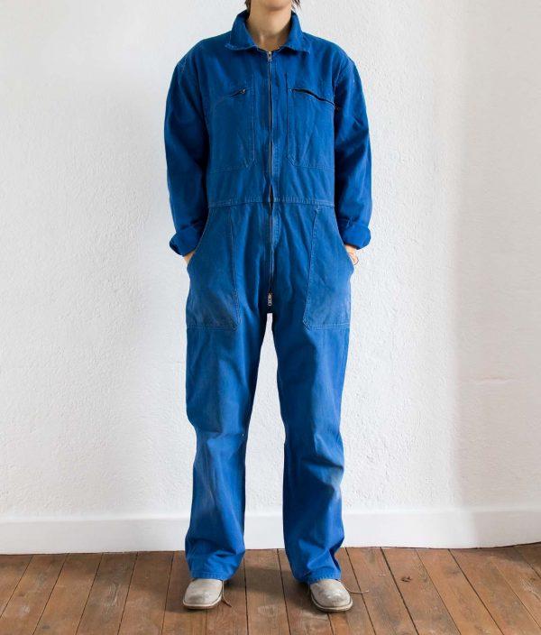 Combinaison - François bleu de travail chiné par Maison Mathûvû